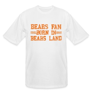 Bears Fan Bears Land - Men's Tall T-Shirt