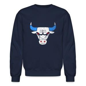 Bulls Flag - Crewneck Sweatshirt