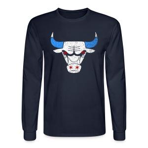 Bulls Flag - Men's Long Sleeve T-Shirt