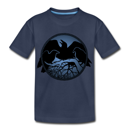 Raven Art Shirt Baby Raven Spirit Animal Toddler T-shirt - Toddler Premium T-Shirt