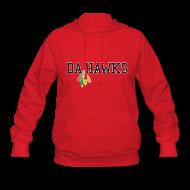 Hoodies ~ Women's Hoodie ~ Da Hawks
