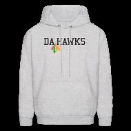 Hoodies ~ Men's Hoodie ~ Da Hawks