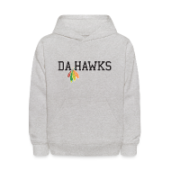 Sweatshirts ~ Kids' Hoodie ~ Da Hawks
