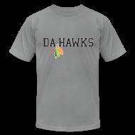 T-Shirts ~ Men's T-Shirt by American Apparel ~ Da Hawks