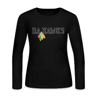 Long Sleeve Shirts ~ Women's Long Sleeve Jersey T-Shirt ~ Da Hawks
