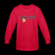 Kids' Shirts ~ Kids' Long Sleeve T-Shirt ~ Da Hawks