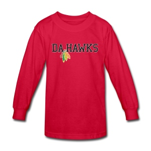Da Hawks - Kids' Long Sleeve T-Shirt