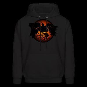 Raven Art Hoodie Shirt Raven Spirit Animal Shirt - Men's Hoodie