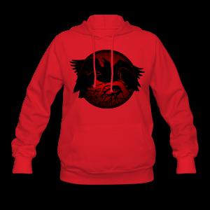 Raven Art Hoodie Shirt Raven Spirit Animal Shirt - Women's Hoodie