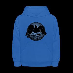 Raven Art Hoodie Kid's Raven Spirit Animal Hoodie Shirt - Kids' Hoodie