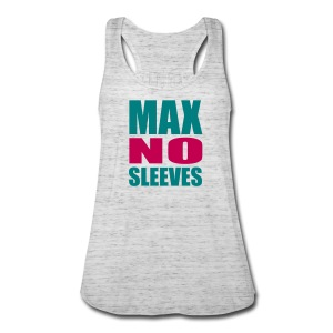 Women's Flowy Tank Top by Bella - youtube,no sleeves,merchandise,maxnosleeves,max no sleeves merchandise,max