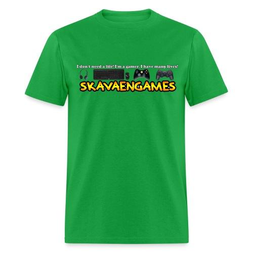 Skavaengames Life Shirt - Men's T-Shirt