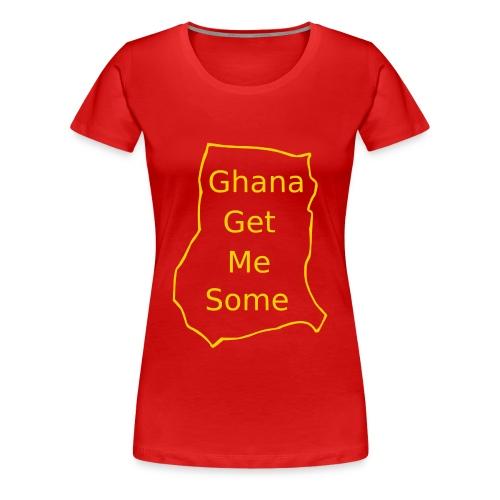 Ghana - Women's Premium T-Shirt