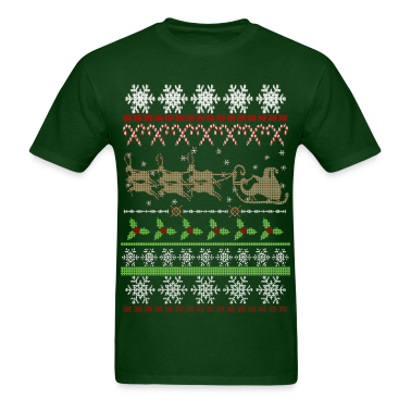 Ugly Christmas Sweater Inspired T-Shirts