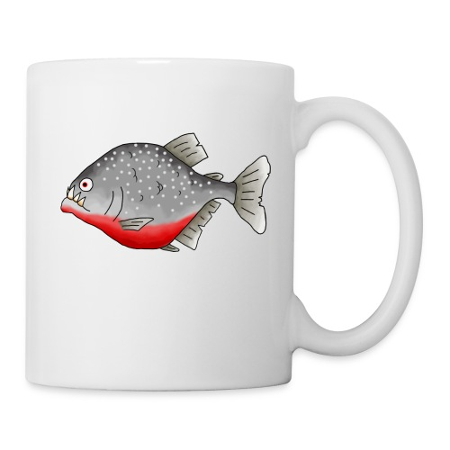 Piranha mug - Coffee/Tea Mug