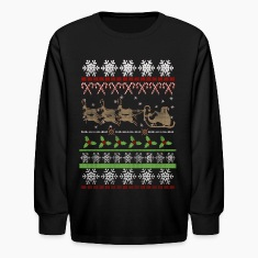 Ugly Christmas Sweater Inspired Kids' Shirts