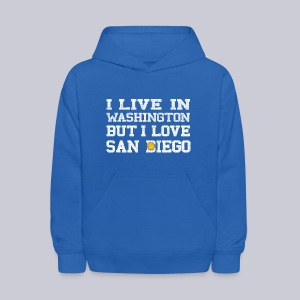 Live Washington Love San DIego - Kids' Hoodie