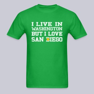 Live Washington Love San DIego - Men's T-Shirt