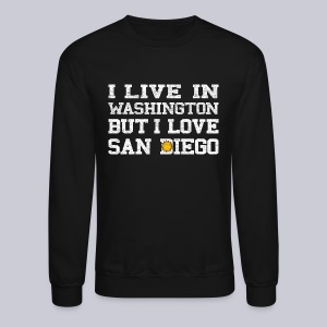 Live Washington Love San DIego - Crewneck Sweatshirt