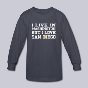 Live Washington Love San DIego - Kids' Long Sleeve T-Shirt