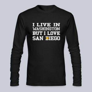 Live Washington Love San DIego - Men's Long Sleeve T-Shirt by Next Level