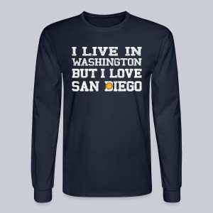 Live Washington Love San DIego - Men's Long Sleeve T-Shirt