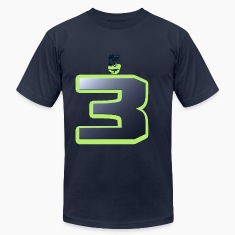 Wilson Seattle 12th Man Face T-Shirts