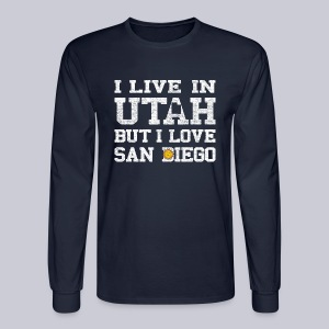Live Utah Love San Diego - Men's Long Sleeve T-Shirt