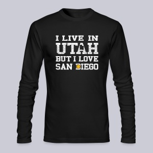 Live Utah Love San Diego - Men's Long Sleeve T-Shirt by Next Level