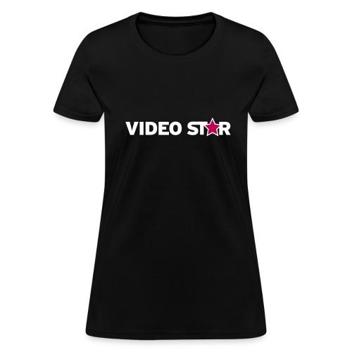 Video Star Logo Women's Adult Tee - Women's T-Shirt