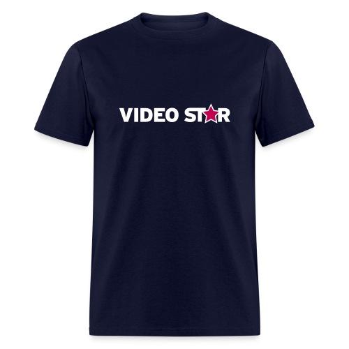 Video Star Logo Men's Adult Tee - Men's T-Shirt