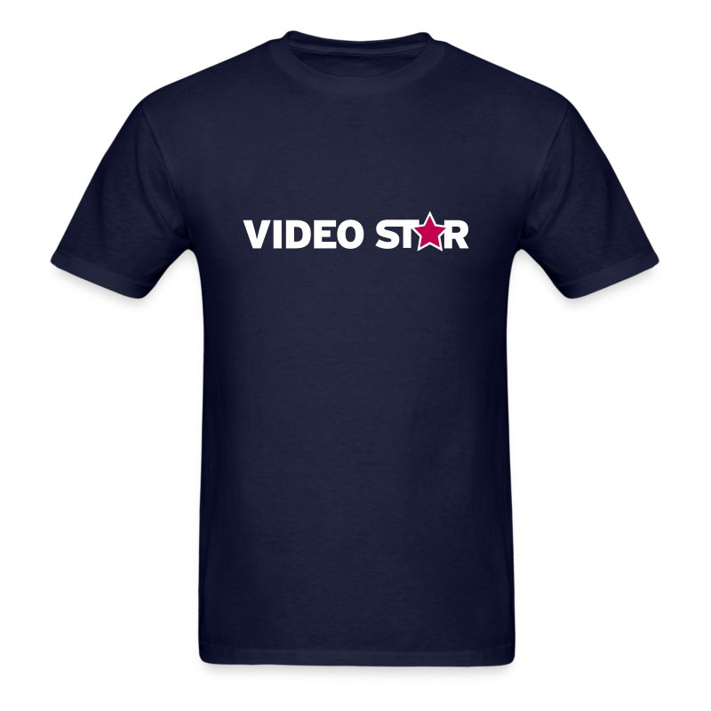 Video Star Logo Men's Adult Tee - Men's T-Shirt