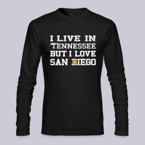 Live Tennessee Love San Diego - Men's Long Sleeve T-Shirt by Next Level