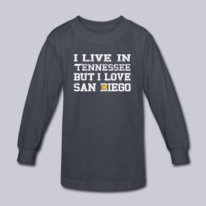 Live Tennessee Love San Diego - Kids' Long Sleeve T-Shirt