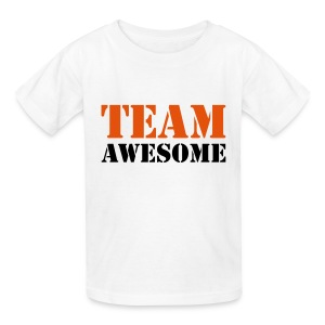 Team Awesome Kid's Shirt - Kids' T-Shirt