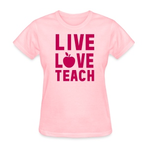 Women's T-Shirt - writing,team kindergarten,team,reading,nap time,math,learning tools,kreative kinder,kinders,kindergarten,kinder,interactive learning,elementary,creativity,classroom,books,back to school,abc,Teacher,School,123