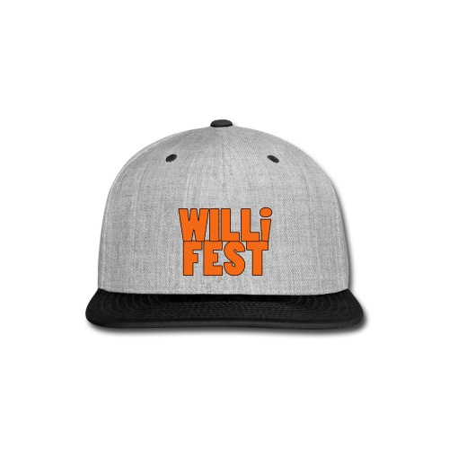 WILLiFEST High-Contrast Snap-Back Baseball Cap - Snap-back Baseball Cap