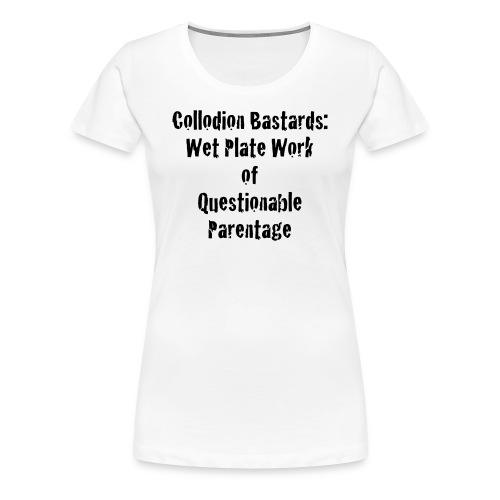 Large logo, Website, Quotes - Women's Premium T-Shirt