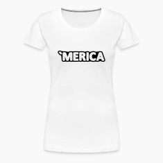 'MERICA America USA United States Birthday Gift Women's T-Shirts