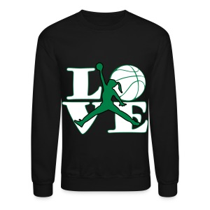 Girls LOVE BASKETBALL - Crewneck Sweatshirt