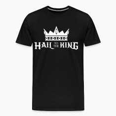 Hail to the King Men's Premium T-Shirt