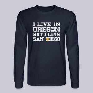 Live Oregon Love San Diego - Men's Long Sleeve T-Shirt