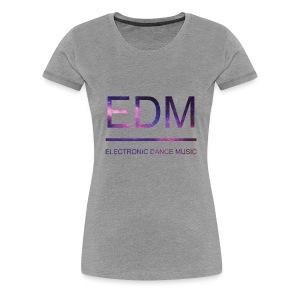 EDM galaxy - Women's Premium T-Shirt
