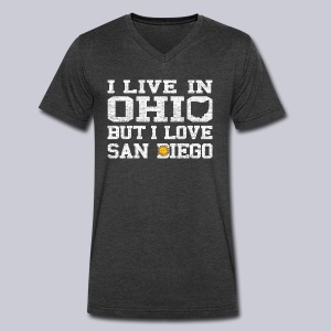 Live Ohio Love San Diego - Men's V-Neck T-Shirt by Canvas