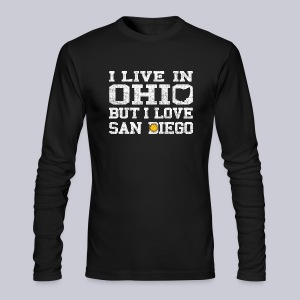 Live Ohio Love San Diego - Men's Long Sleeve T-Shirt by Next Level