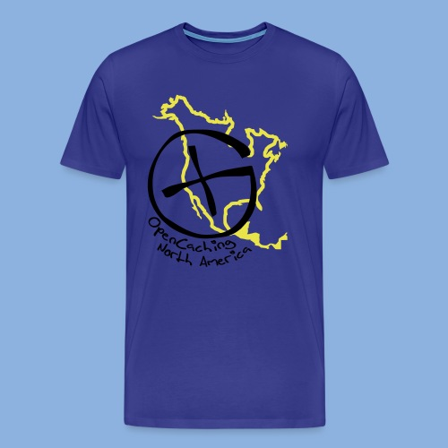 OCNA Logo Premiuim Men's T-Shirt - Men's Premium T-Shirt