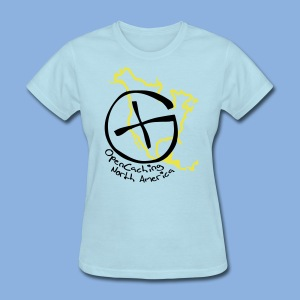 OCNA Logo Light Blue Women's T-Shirt - Women's T-Shirt