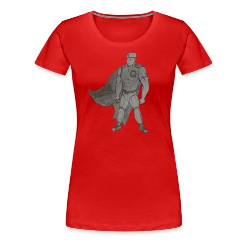 Funnie Comics B&W for Women - Women's Premium T-Shirt