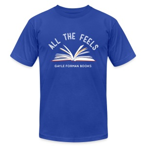 Feels On The Page Men's T-Shirt - Men's T-Shirt by American Apparel