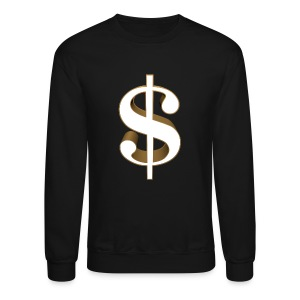 Dollar Sign Sweatshirt - Crewneck Sweatshirt